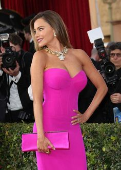 Click to find out why Sofia Vergara said living with a size 32DDD chest is difficult (and why it makes her BLEED - yikes!).