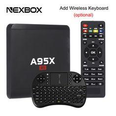 A95X R1 TV Box Rockchip RK3229 Quad Core 32-bit CPU Android 6.0 1GB 8GB Smart TV Box HDMI 2.0 4Kx2K HD 2.4G  WiFi Media Players
