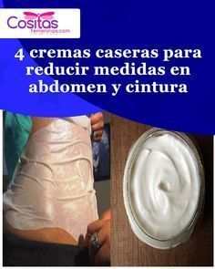 Cremas para quemar grasa en abdomen