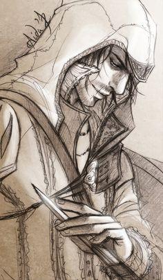 ACII - My name is Ezio Auditore da Firenze by Lehanan.deviantart.com