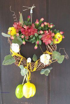 Easter wreat hanging on the door