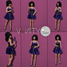 Vanity Poses  http://maps.secondlife.com/secondlife/Sweet%20Surprises/114/21/21