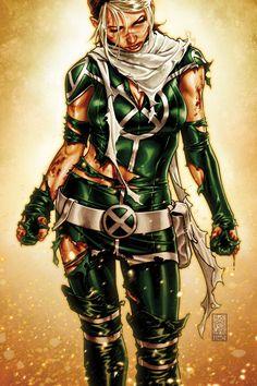 X-Men Legacy cover by `diablo2003 on deviantART - Rogue