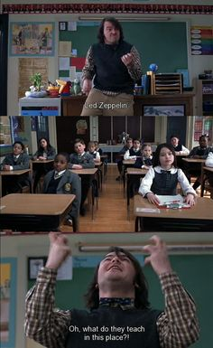 The kinda teacher I'd be!! lol Just let me teach a Rock and Roll class. ;) ~School of Rock