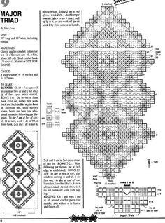 Tischläufer Filethäkeln - filet crochet tablerunner ...