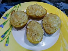 Patatas rellenas de queso (Microvapor tupperware) - MundoRecetas.com