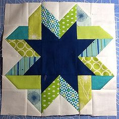 Ribbon star--there is a link to a tutorial