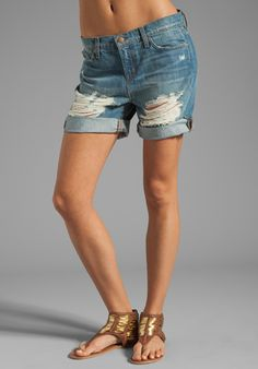 in search of some new cut off jeans shorts... these #jbrand ones might just be them.