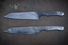 Rasp knife making and examples