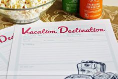 Turn planning your next vacation into a fabulous and fun date night with our great printables!