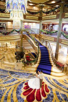 Disney Dream Cruise Ship Wedding: Evianca + Hector