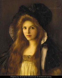 LYNCH, Albert Peru [1851–1912]_beautiful betty Beautiful beauty