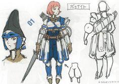 Fire Emblem: Awakening Concepts - Female Bow Knight