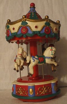 Musical Christmas Carousel | musical christmas carousel - Google Search