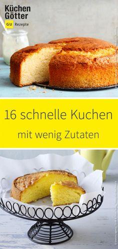 Wir zeigen dir, wie du mit wenigen Zutaten in kurzer Zeit einen Kuchen zauberst, der geschmacklich und optisch einfach jeden überzeugt.