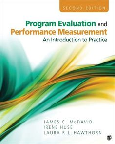 Statistical tools for program evaluation methods and applications program evaluation and performance measurementan introduction to practice publicscrutiny Gallery