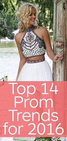 The Top 14 Prom Trends for 2016 Don't be trendy be who you are. It's boring when everyone looks the same Prom Dresses 2016, Grad Dresses, Quinceanera Dresses, Evening Dresses, Cute Formal Dresses, Formal Gowns, Pretty Dresses, Chic Dress, Dress Skirt