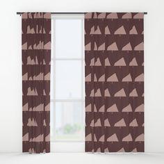 Plum Xmas #society6 #plum #xmas Window Curtains