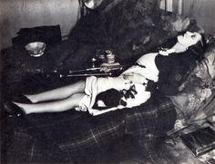 Brassai, paris by night, an opium smoker asleep, paris, c 1931