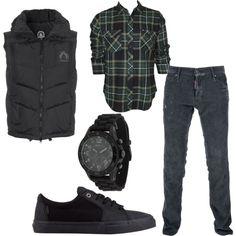casual men-shirt& shoes