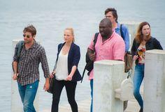 James Wolk as Jackson Oz, Nora Arnezeder as Chloe Tousignant, Nonso Anozie as Abraham Kenyatta, Billy Burke as Mitch Morgan, and Kristen Connolly as Jamie Campbell.