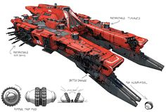 Gunship from Destiny 2