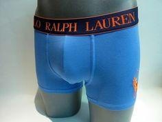 Boxer Polo Ralph Lauren de algodón azul - Calzoncillo muy suave al tacto y ajustado al cuerpo - Color liso en verde y goma vista en negro con el logo de la marca - Ref: 251 U0232 B6598 A4887. #moda #modahombre http://www.varelaintimo.com/categoria/37/boxers