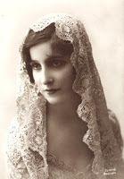 Veils by Lily - Mantilla-style chapel veils