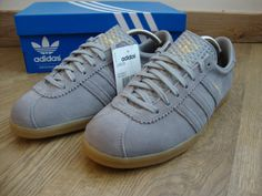 a0eb570511f9 Adidas Originals London Trainers Aluminium Grey Gum BNIB Size UK 9 EU 43 1  3