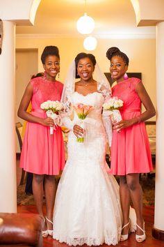 A Cameroonian Love Affair Kenyan Wedding, Wedding Gowns, Wedding Day, Girls Dresses, Flower Girl Dresses, Love Affair, All About Fashion, Beautiful Bride, Bridal Style