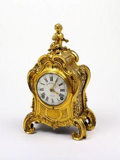 Clock    Place of origin:  Paris, France (made)    Date:  1745-1750