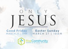 Rise Easter Invite Postcard