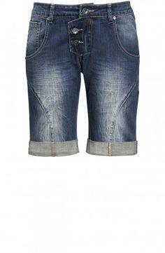 Leoni Jeans Shorts Blue Denim