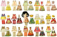 Lati Yellow Size 3 Clothing Kit : You Choose Doll by DollProject