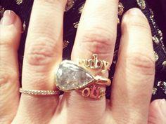 Jennifer Meyer - 3-4 Letter Custom Name Ring