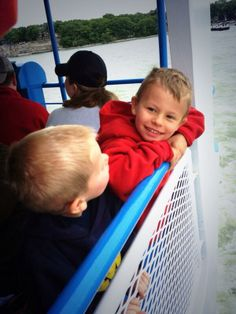 The kids loved riding the @Miller Ferries to Put-in-Bay & Middle Bass to Put-in-Bay, Ohio! Photos via Twitter @Lilje55.