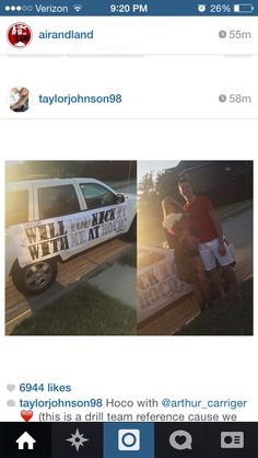 Homecoming proposal! Asking To Prom, Homecoming Proposal, Will You Go, Promposal, Invitations, Dance, Shit Happens, Cute, Ideas