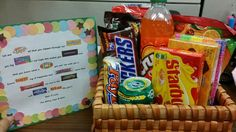 ... Pinterst and made it for a co worker who was leaving us... candy gram