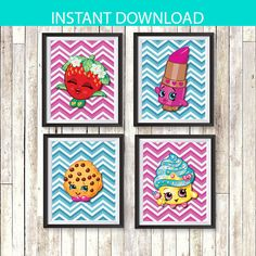 ♦♦INSTANT DOWNLOAD♦♦ ♦♦♦DIGITAL FILE♦♦♦  ♦♦Easy Print at home or at any Print Shop/Photo Lab!♦♦ ♦♦8 x 10inch poster♦♦  ♦SET OF 4♦