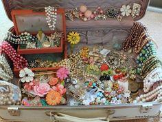 Flea Market Haul: Lucy's Case of Jewelry