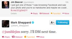 Jim Beaver and Mark Sheppard on Twitter