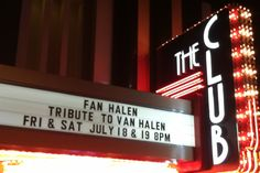 VAN HALEN TRIBUTE...FAN HALEN @ CANNERY