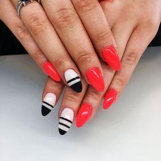 Piękno drzemie w prostocie :) #hybryda #nails #nailart #piekniejszaty