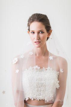 Daisy - Bridal Bustier , Skrit, Bridal Separates, Bohemian 2-piece - Wedding Lace Top - Bridal Gown - 2-Piece Wedding Gown - Skirt