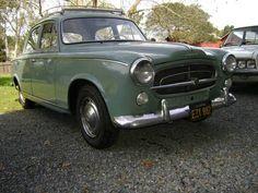 Black-Plate 1960 Peugeot 403 Garage Find