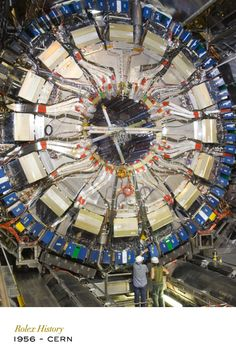 CERN, the world's pre-eminent particle physics laboratory, hosts the world's highest-energy particle accelerator. CERN was also one of the first scientific institutions to confirm that the Milgauss watch could indeed resist magnetic fields of up to 1,000 gauss. #RolexOfficial