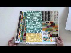 Part 1 of a 2 part video series from Simple Stories Design Team member Vicki Boutin, with our I Heart Summer collection