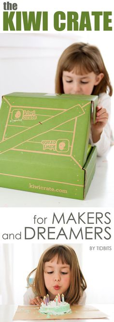 Kiwi Crate Review - Subscription Box for kids.
