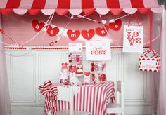 Cupid's Post Office- Valentine's Day Party - Kara's Party Ideas - The Place for All Things Party