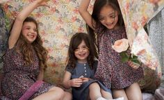 Floral, retro-inspired dresses for girls by Leigh Tucker Willow Little Darlings, Boy Fashion, Boy Or Girl, Girls Dresses, Retro, Boys, Floral, Inspiration, Clothes